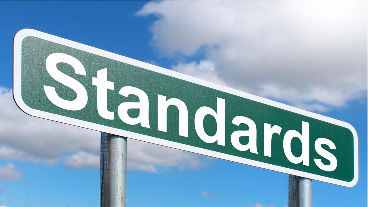 Professional Standards - 'Standards' on a street sign