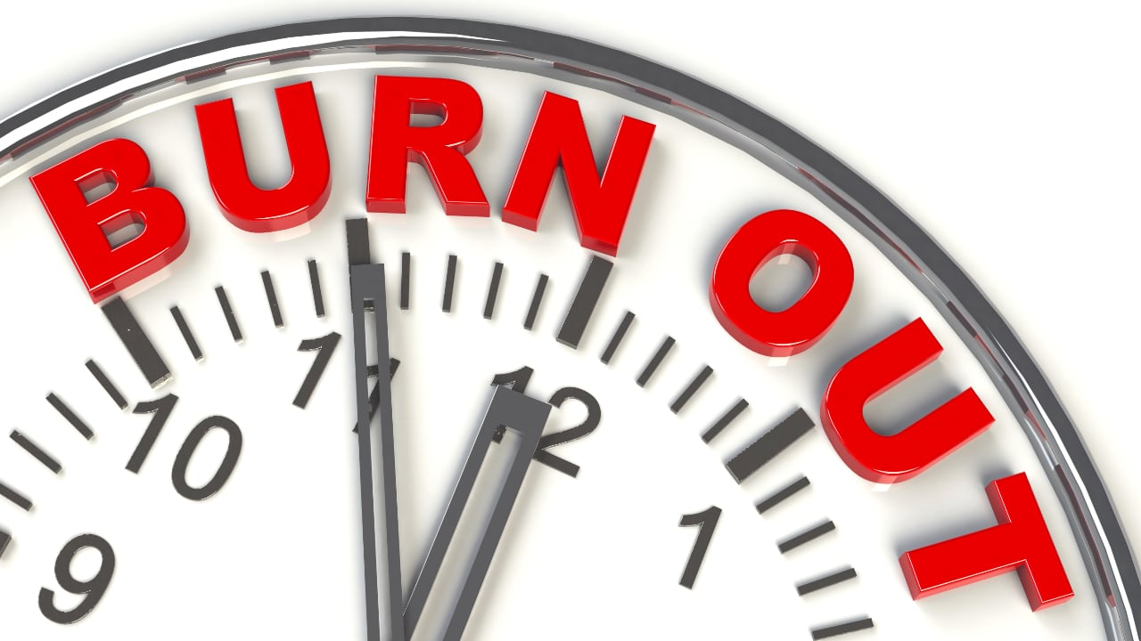 Approaching burnout - feeling overwhelmed by stress