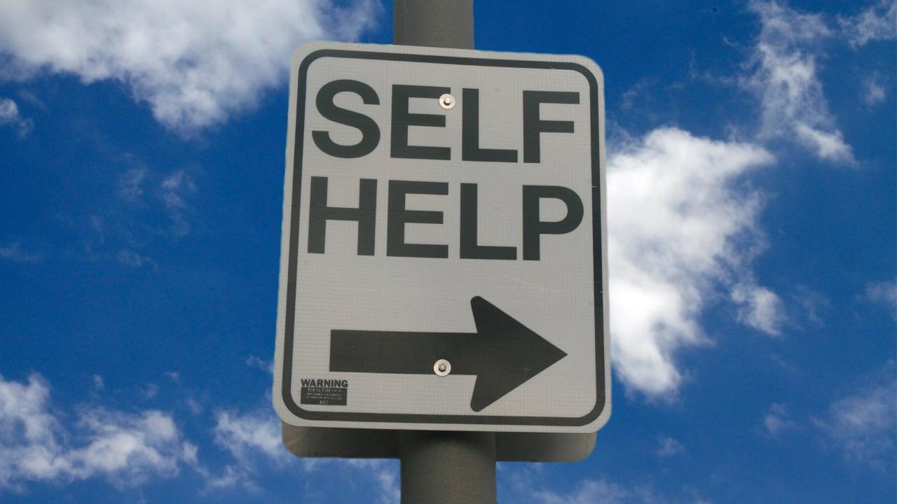 Self Help Road Sign - Free Self Help Booklets