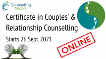 Certificate in Couples' and Relationship Counselling (Online)